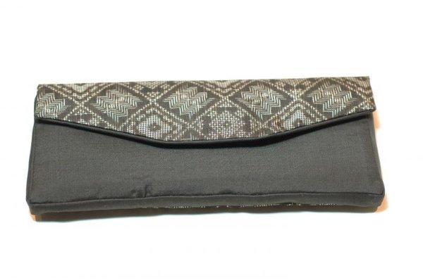 画像1: 大島紬 念珠袋 長尺 (1)