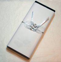 画像1: 宇野千代のお線香 薄墨桜 塗り箱入進物